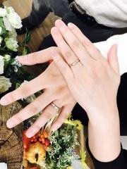 【Hamri(ハムリ)の口コミ】 結婚指輪に対してのブランドのこだわりを持っていなかった為、思い切って…
