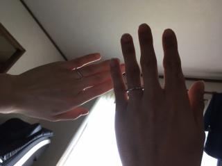 【エクセルコダイヤモンド(EXELCO DIAMOND)の口コミ】 くすみ加工したものを購入しました。購入に至った一番の決め手は他とかぶ…