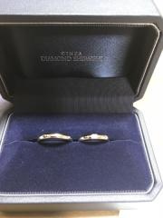 【銀座ダイヤモンドシライシの口コミ】 数多くの店舗をまわりましたが、最終的に販売員の説明に指輪の製造方法が…