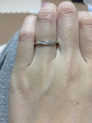 【銀座ダイヤモンドシライシの口コミ】 つけ心地がよくとにかくデザインが好みでした。もう一つ違うお店に見に行…