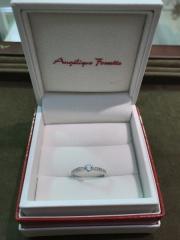 【アンジェリックフォセッテ(Angelique Fossette)の口コミ】 ダイヤモンドの品質にもこだわったのでより綺麗に目立つもの、また普段使…