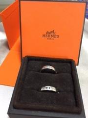 【エルメス(HERMES)の口コミ】 彼が、結婚指輪はあまりつけたくないと言っていましたが、エルメスのなら…