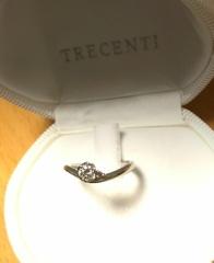 【TRECENTI(トレセンテ)の口コミ】 何店舗も指輪を見てまわっていたので、正直疲れていました…。婚約指輪を贈…