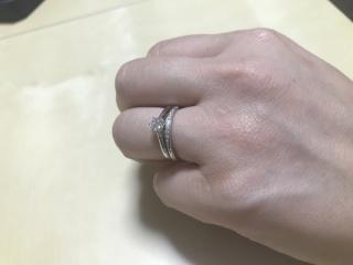 【銀座ダイヤモンドシライシの口コミ】 抜群に接客が良かったです。究極のシンプル、究極の品質、究極の着け心地…