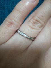 【銀座ダイヤモンドシライシの口コミ】 結婚式場で銀座ダイヤモンドシライシのパンフレットをもらいその中で気に…