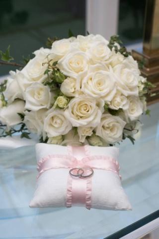 【ティファニー(Tiffany & Co.)の口コミ】 婚約指輪と一緒にTiffanyで揃えたかったので、二人の出会った街「銀座」で…