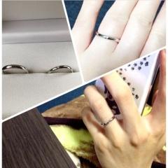 【工房 茶ぼうの口コミ】 夫婦共に普段からアクセサリーを身につけないので肌身離さず指輪を着ける…