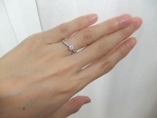 【TRECENTI(トレセンテ)の口コミ】 私の指は河童みたいな水かきがあるためかストリートタイプの指輪が似合い…