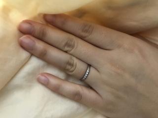 【ラザール ダイヤモンド(LAZARE DIAMOND)の口コミ】 婚約指輪と相性のいいものをと思い、色々みて回りましたが、あまりいいも…