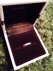 【アイプリモ(I-PRIMO)の口コミ】 仕事柄、指輪がきらきらと目立ちすぎるのは避けたかったので、くすみがかる…