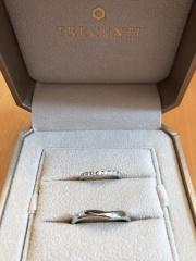 【TRECENTI(トレセンテ)の口コミ】 たくさんのブランドを見ましたが、 ダイヤのきれいさとデザインのしっくり…