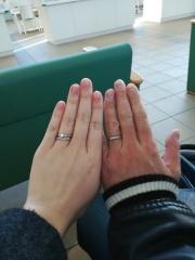 【手作り指輪工房 G.festa(ジーフェスタ)の口コミ】 二人で手作りができ、デザインも自由に選べるところ。 二人で作ることによ…