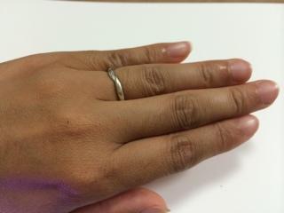 【Veramore(ヴェラモーレ)の口コミ】 金額が思ったより安かったことと。結婚指輪にそこまでお金を出せなかった…
