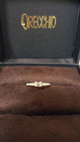 【ORECCHIO(オレッキオ)の口コミ】 結婚が決まり、インターネットで結婚指輪を探しているときにORECCHIOのエ…