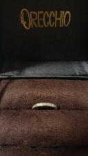 【ORECCHIO(オレッキオ)の口コミ】 あまり見かけないデザインでゴールドの指輪 が欲しかったので、インターネ…