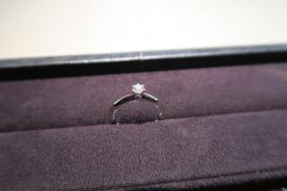 【ティファニー(Tiffany & Co.)の口コミ】 結婚指輪としていただきました。 以前からティファニーの婚約指輪が憧れだ…