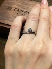 【TANZO(タンゾウ)の口コミ】 鍛造製法の婚約指輪はほとんどなく、あったとしても気に入るデザインでは…