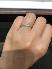 【エクセルコダイヤモンド(EXELCO DIAMOND)の口コミ】 12月の頭にはじめて来店して、婚約指輪を見させていただき、デザインも可…