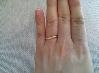【MIKIMOTO(ミキモト)の口コミ】 もともと指輪を日頃つけないのでつけてて違和感がないものを探していまし…