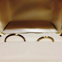 【MALCOLM BETTS(マルコムベッツ)の口コミ】 以前よりファッションリングとしてMALCOLM BETTSの指輪を愛用しており、結…