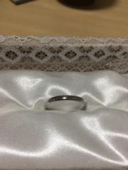 【宝寿堂(ほうじゅどう)の口コミ】 私は男なので、正直指輪は何でも良いと思っていました。 私の指はどちらか…