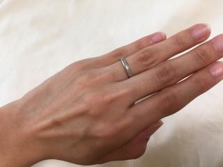 【アイプリモ(I-PRIMO)の口コミ】 シンプル過ぎず、派手すぎない、人とは違うワンポイントがある指輪を探して…