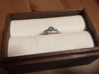 【PORTADA(ポルターダ)の口コミ】 婚約指輪をサプライズでもらわず、自分で選んで購入しました。一生に一度…