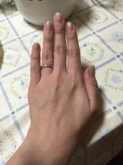 【アイプリモ(I-PRIMO)の口コミ】 私はあまり目立たない、手を閉じたときに痛くない、またつけたときにゴツゴ…