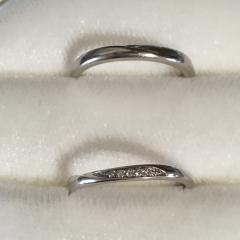 【俄(にわか)の口コミ】 友達が俄の結婚指輪をつけていたので興味を持ちました。あまり派手なもの…