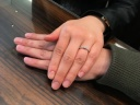 【ROYAL ASSCHER(ロイヤル・アッシャー)の口コミ】 真ん中にダイヤモンドの王道デザインや、ダイヤモンドが3つ並んでいるデザ…