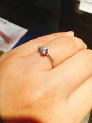 【JEWELRY  KAMATA(ジュエリーかまた)の口コミ】 オーダーメイドで自分達だけの指輪を作っていただけるので、一生の思い出…
