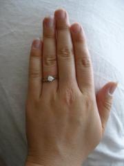 【アイプリモ(I-PRIMO)の口コミ】 夕方に試着させていただいたにも関わらず(むくんでいました)、すんなり指…