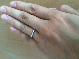 【MIKIMOTO(ミキモト)の口コミ】 結婚指輪は以前から思い入れのあるブランドであるMIKIMOTOでと決めていま…