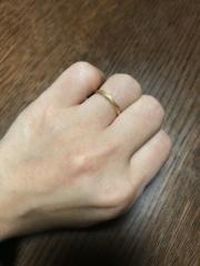 【組曲ジュエリーの口コミ】 京都伊勢丹のジュエリー売り場で数あるお店を色々見ていて、ゴールド系の…