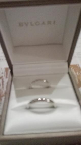 【ブルガリ(BVLGARI)の口コミ】 しっかりしたブランドでシンプルな指輪を探して今した。似たようなデザイ…