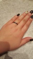 【Aroode(アローデ)の口コミ】 金属アレルギーで指輪を普段は着けないのですが、結婚指輪として使い続け…