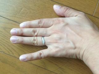 【ケイウノ ブライダル(K.UNO BRIDAL)の口コミ】 指輪のデザイナーさんが、私たちの希望を聞きながら、モチーフをどうするか…