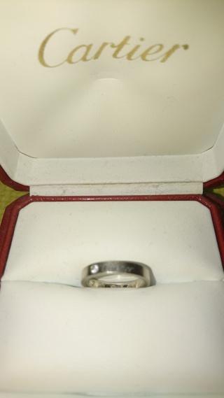 【カルティエ(Cartier)の口コミ】 結婚指輪を購入するために、TIFFANY、BVLGARI、Cartierの3ブランドに絞り…