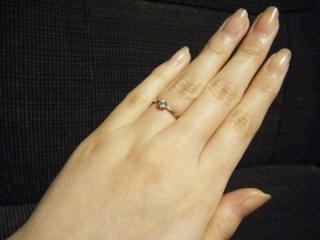 【ジュエリーツツミ(JEWELRY TSUTSUMI)の口コミ】 婚約指輪はずっともらうのが夢で、どうしても欲しかったので、無理のない…