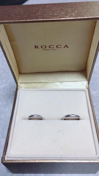 【ROCCA(ロッカ)の口コミ】 華奢だけど高級感のあるデザインを探して担当の方にアドバイスをもらい、…