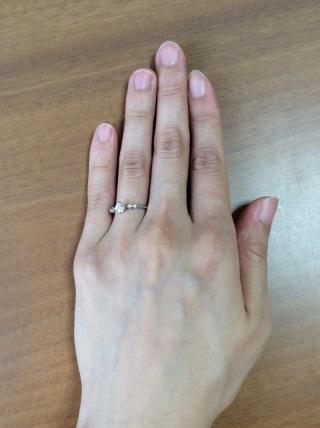 【アイプリモ(I-PRIMO)の口コミ】 私は手が小さく、指が細くて太めのリングは似合わないので、なるべく細めの…