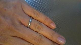【スタージュエリー(STAR JEWELRY)の口コミ】 指輪を選んでいた時期に妊娠をしていたので、サイズが調整しやすいデザイ…