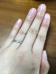 【MIKIMOTO(ミキモト)の口コミ】 シンプルな結婚指輪ではなく、何かデザインがある結婚指輪がよかったので…