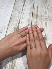 【宝寿堂(ほうじゅどう)の口コミ】 値段が安い。指にはめた感じがちょうど良い。2人で、どういう指輪にするか…