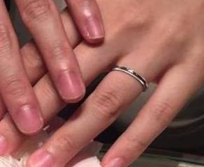 【ティファニー(Tiffany & Co.)の口コミ】 ティファニーの指輪に憧れていたので、ブランドについては即決でした。店…