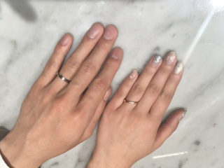 【フラー・ジャコー(FURRER-JACOT)の口コミ】 鍛造の指輪で探していました。 ほかの鍛造の指輪も着けましたがこの指輪を…