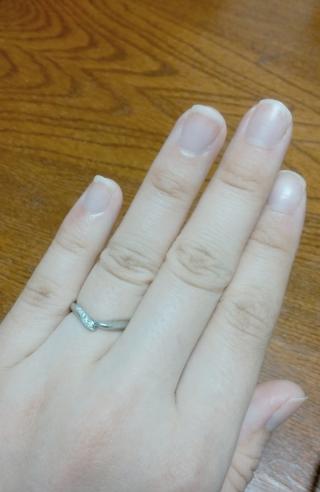 【俄(にわか)の口コミ】 初桜は、男性の指輪が「桜の幹」と女性の指輪が「桜の花」をモチーフにして…