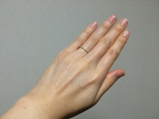 【カルティエ(Cartier)の口コミ】 もともと、婚約指輪や結婚指輪はCartierで揃えたい、という憧れがあったた…