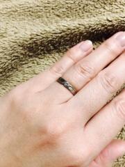 【LANVIN(ランバン)の口コミ】 もう一つの迷っていたデザインの指輪があったのですが、ランバンの指輪の…
