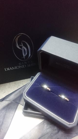 【銀座ダイヤモンドシライシの口コミ】 ずっと着けてられるような飽きのこないシンプルなデザインがいいなぁと思…